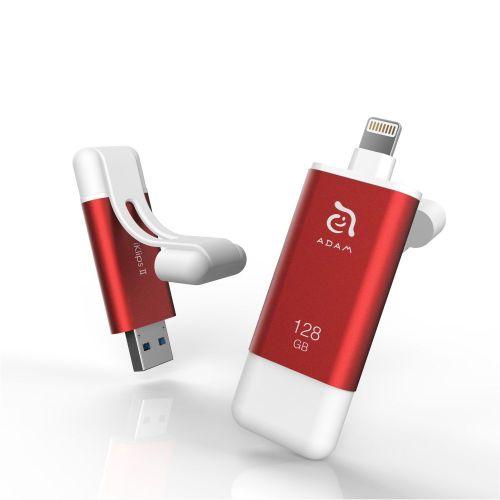加購-iKlips II 極速iPhone & iPad專用隨身碟 128GB WFH