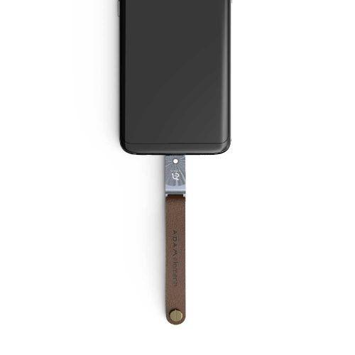 ROMA USB Type−C USB 3.1 雙用隨身碟 256G 灰