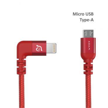 PeAK II FLEET LMB L30BS Lightning to Micro USB 金屬編織傳輸線 for DJI 30公分