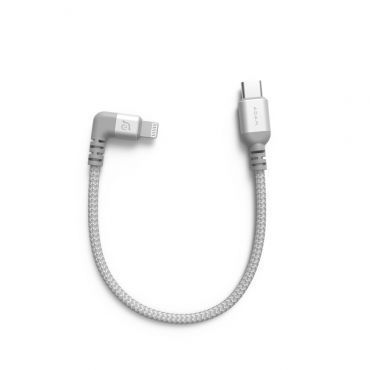 PeAk II USB-C to Lightning Cable LC30B 90度L型金屬編織傳輸線